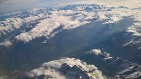 Les Alpes Fotografia Stock