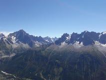 Les Alpes Zdjęcia Stock