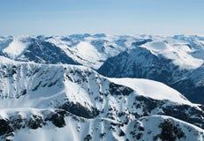Les Alpes de Sunnmøre Image libre de droits