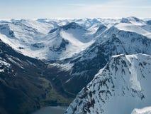 Les Alpes de Sunnmøre Images libres de droits