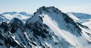 Les Alpes de Sunnmøre Photographie stock libre de droits