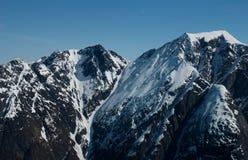 Les Alpes de Sunnmøre Images stock