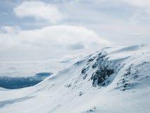 Les Alpes de Sunnmøre Photo libre de droits