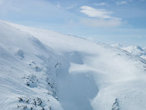 Les Alpes de Sunnmøre photos libres de droits