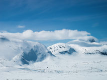 Les Alpes de Sunnmøre image stock