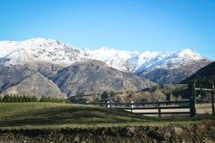 Les Alpes du sud de la Nouvelle Zélande Image libre de droits