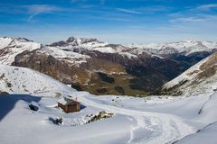 Les Alpes en Autriche Images libres de droits