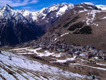 Les  Alpes Royalty Free Stock Image