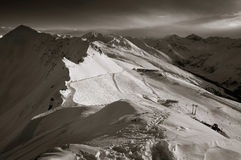 Les Alpes suisses Images stock