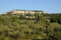 Les Alpilles In Provence Royalty Free Stock Photography