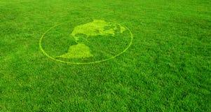 Les Amériques vertes Image libre de droits