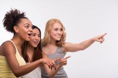 Les amis sont toujours ensemble Image libre de droits