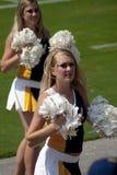 Les amorces d'acclamation dans le football américain d'université Photos stock