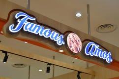 Les AMOs célèbres font des emplettes dans le mail de paradigme, Johor Bahru Image stock