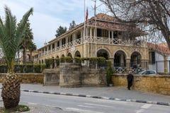 Les anciens palais de justice britanniques, Chypre Photographie stock libre de droits