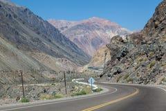 Les Andes Argentine Photo libre de droits