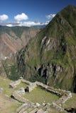 Les Andes de Machu Picchu Image libre de droits