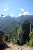 Les Andes de Machu Picchu photographie stock libre de droits