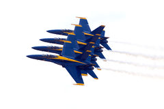 Les anges bleus Photographie stock libre de droits