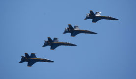 Les anges bleus chez Seafair Photos libres de droits