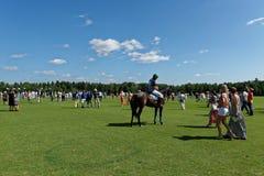 Les Anglais Polo Day à Moscou photographie stock libre de droits