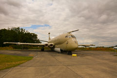 Les Anglais Royal Air Force Nimrod Images libres de droits