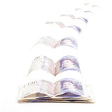 Les Anglais volants 20 livres Photo stock