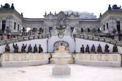 Les 12 animaux des statues chinoises de zodiaque Image libre de droits