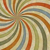Les années '60 dénomment le remous sale de rayon de soleil illustration stock