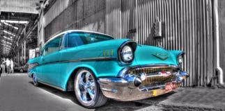 Les années 1950 américaines classiques Chevy Images stock