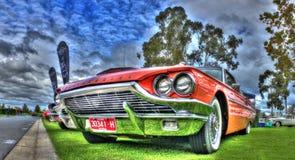 Les années 1960 classiques Ford Thunderbird construit américain Images libres de droits