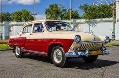 Les années 60 russes soviétiques rares de Volga de voiture Photo stock