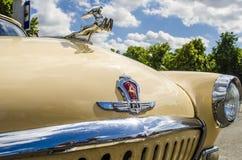 Les années 60 russes soviétiques rares de Volga de voiture Image libre de droits