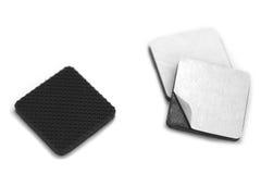 Les anti caoutchoucs d'éraflure et de glissement Photo stock