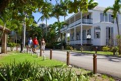 Les Antilles, les Caraïbe, Antigua, chantier de construction navale du Nelson, House d'amiral et musée de chantier de constructio Images libres de droits