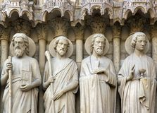 Les apôtres Images libres de droits