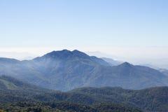 Les Appalaches de paysage scénique de ciel bleu Photographie stock libre de droits