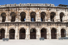 Les Arenes of Nimes Stock Image