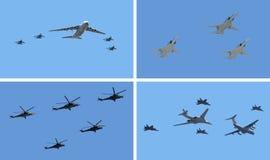 Les Armées de l'Air Image libre de droits