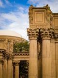 les arts affinent le palais san de Francisco Images libres de droits