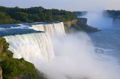 Les automnes américains donnent sur chez Niagara Images libres de droits