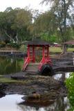 Les automnes d'arc-en-ciel est une cascade située dans Hilo, Hawaï Photo libre de droits