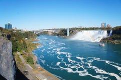Les automnes de Niagara Photo libre de droits