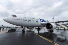 Les avions pour simuler l'apesanteur Airbus A310 ZERO-G d'effets photo stock
