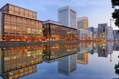 Secteur de Marunouchi de Tokyo images libres de droits