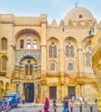 Les bâtiments médiévaux au Caire, Egypte image libre de droits