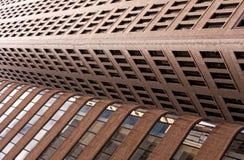 Les bâtiments se heurtent Images libres de droits