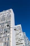 Les bâtiments Stockholm de Hoetorget Images libres de droits
