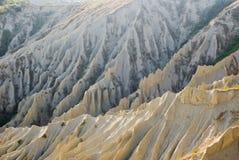 Les bad-lands d'Atri, Italie Photos stock