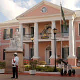 Les Bahamas - Chambre de gouvernement Images libres de droits